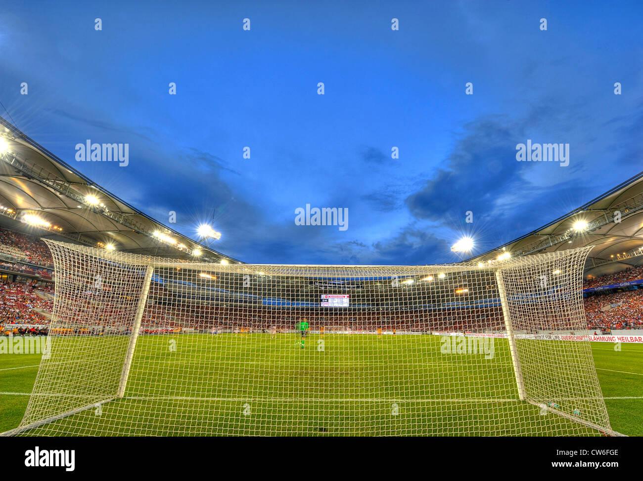 Football stadium mercedes benz arena germany baden for Mercedes benz football