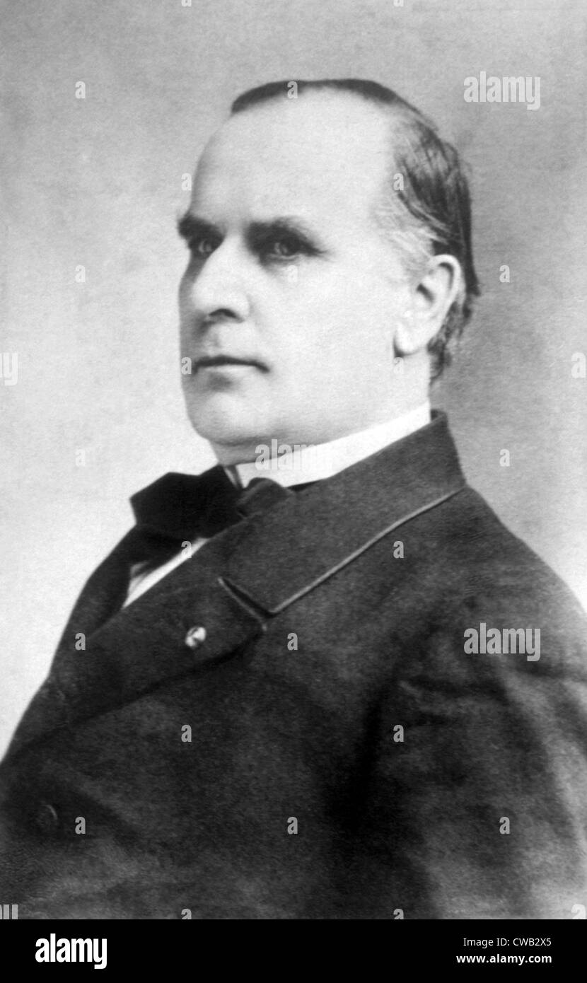 William McKinley (1843-1901), U.S. President (1897-1901 ...