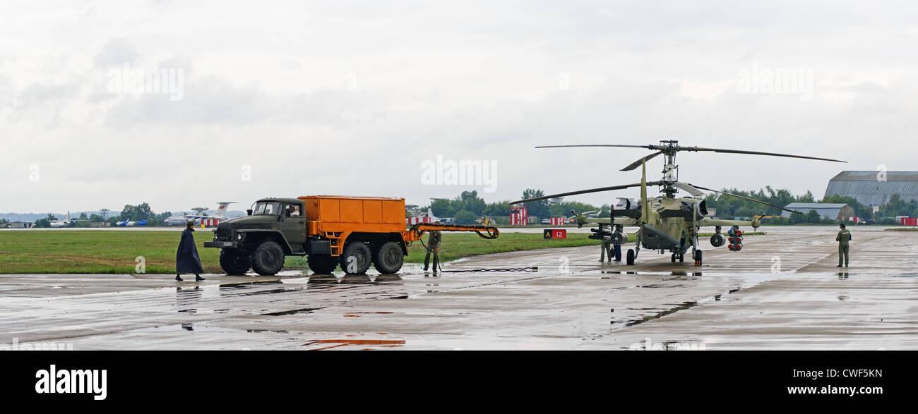 A russian combat helicopter ka 52 on x international - Ka international ...