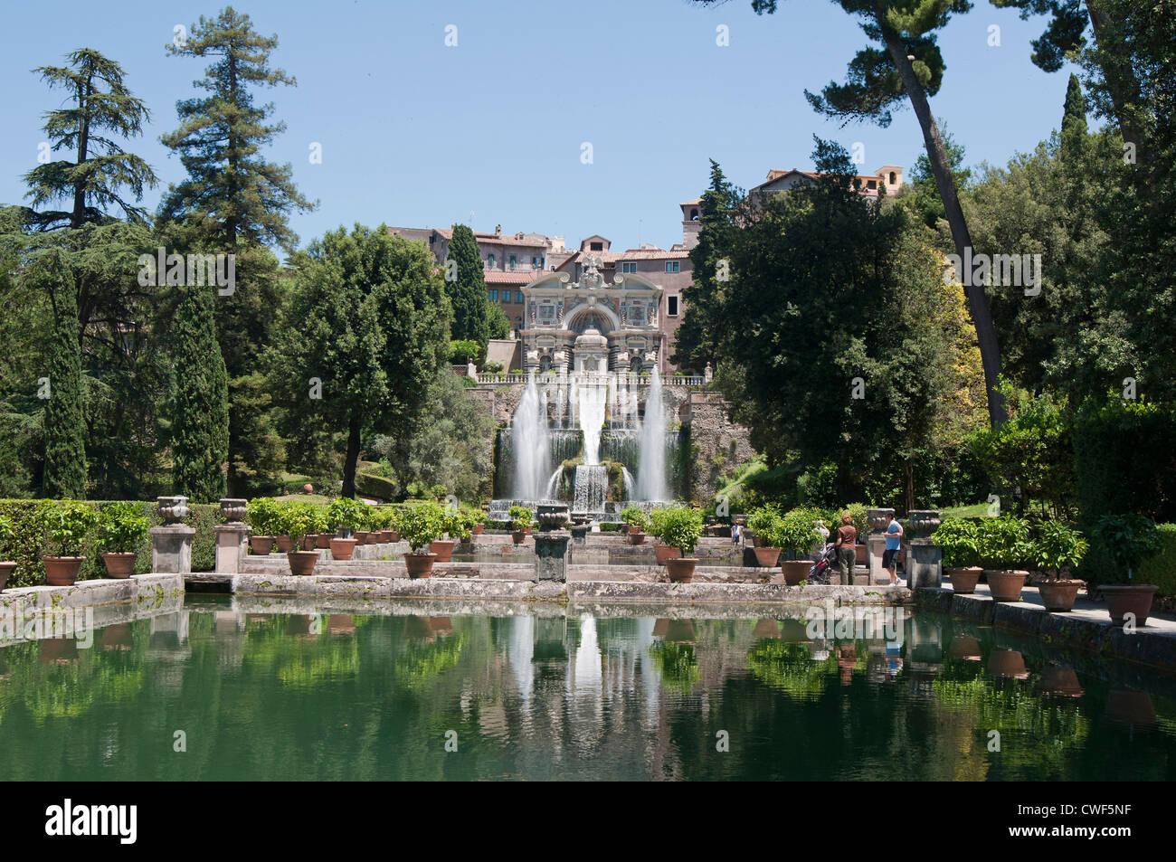 The Renaissance Gardens Of The Villa D 39 Este Tivoli Near