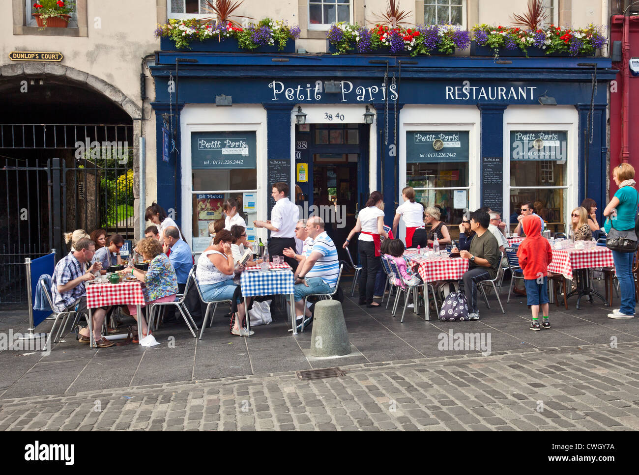 Outside French Cafe Tables For Kids