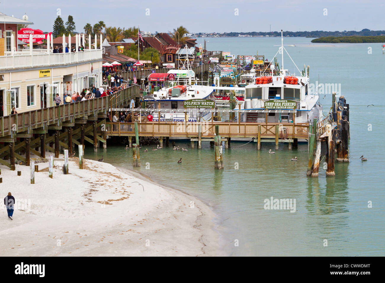 Fishing charters restaurants and shops at john 39 s pass in for Deep sea fishing johns pass