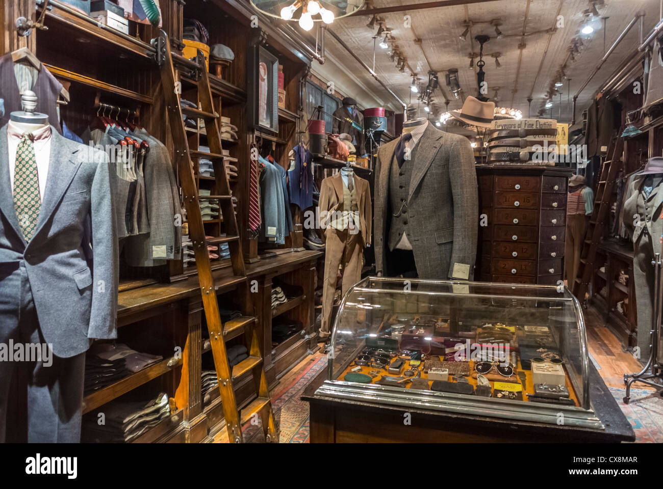 Mens clothing stores nyc