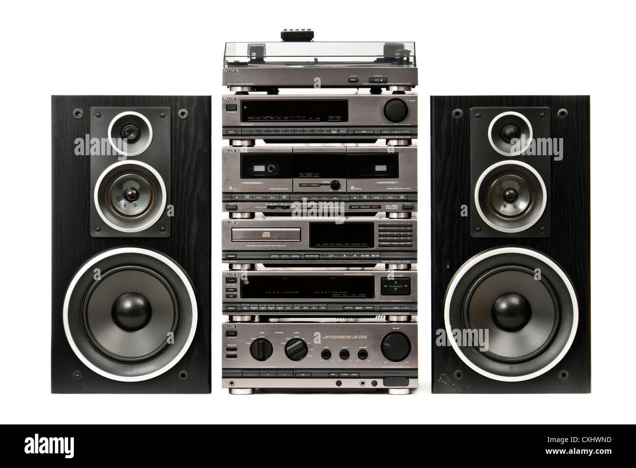 Vintage Sony Lbt D705 Integrated Hi Fi Music System Stock