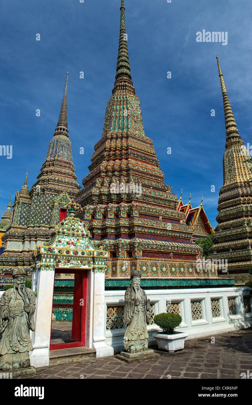 Chedi, Phra Maha Chedi Si Ratchakan, Wat Pho, Wat Phra ...