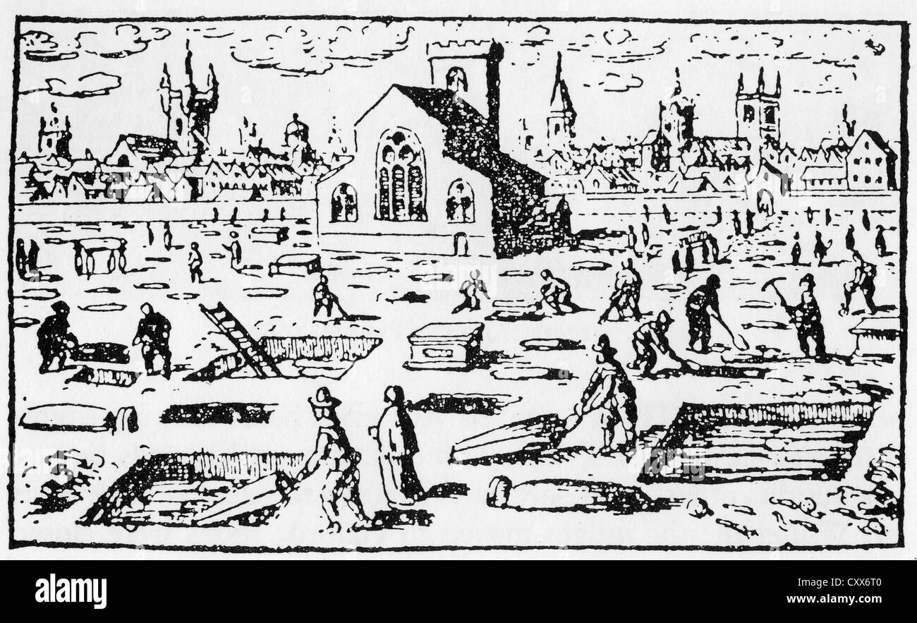 A history of the great london plague in 1665