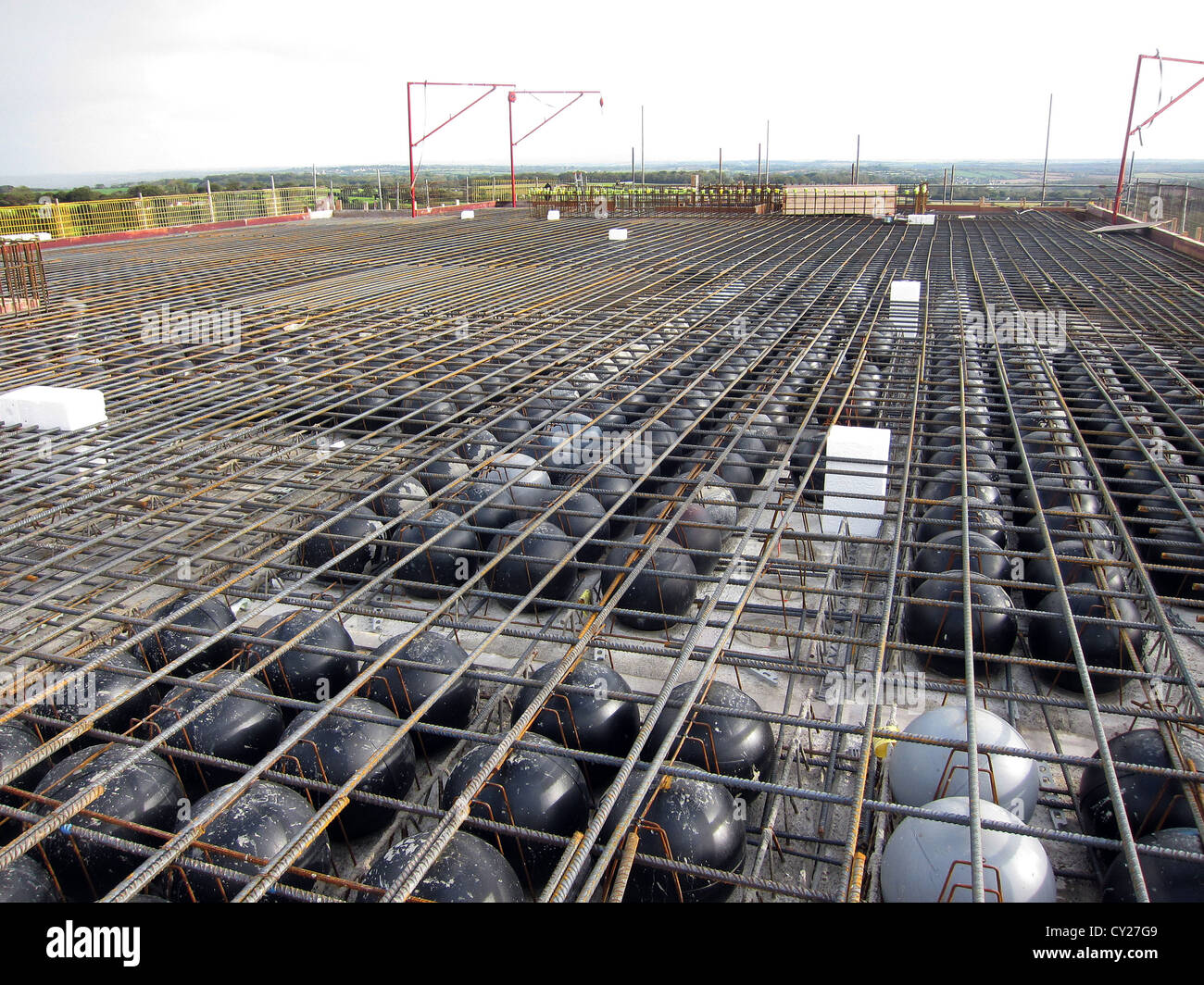 Construction Of A Concrete Slab Using Light Weight Balls