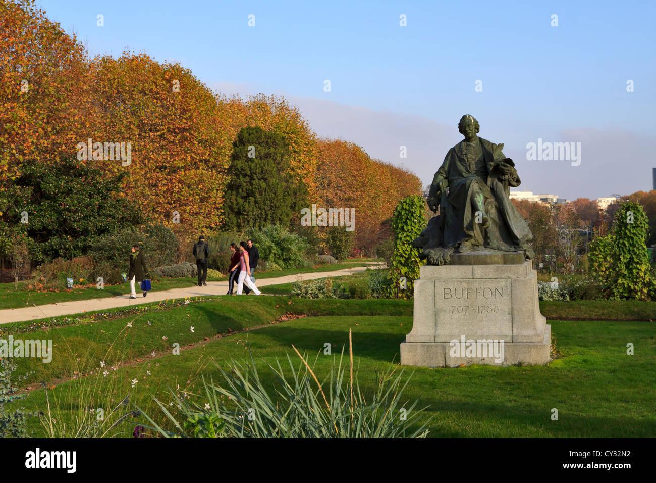 Statue of comte de buffon at the jardin des plantes paris for Jardin des plante