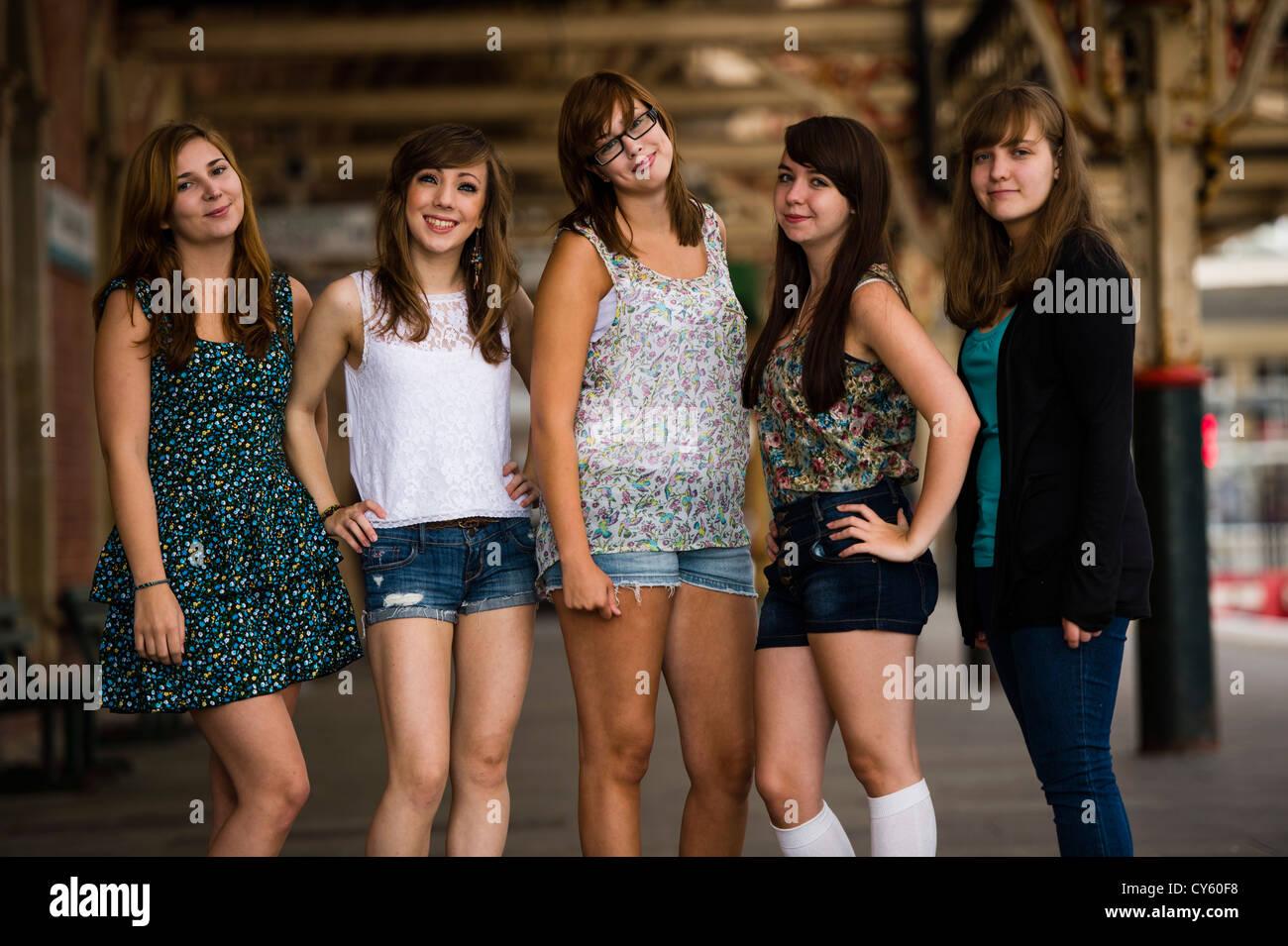 Welsh Teenage Women 27
