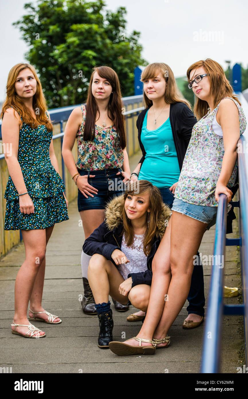 Rasierte Teenies