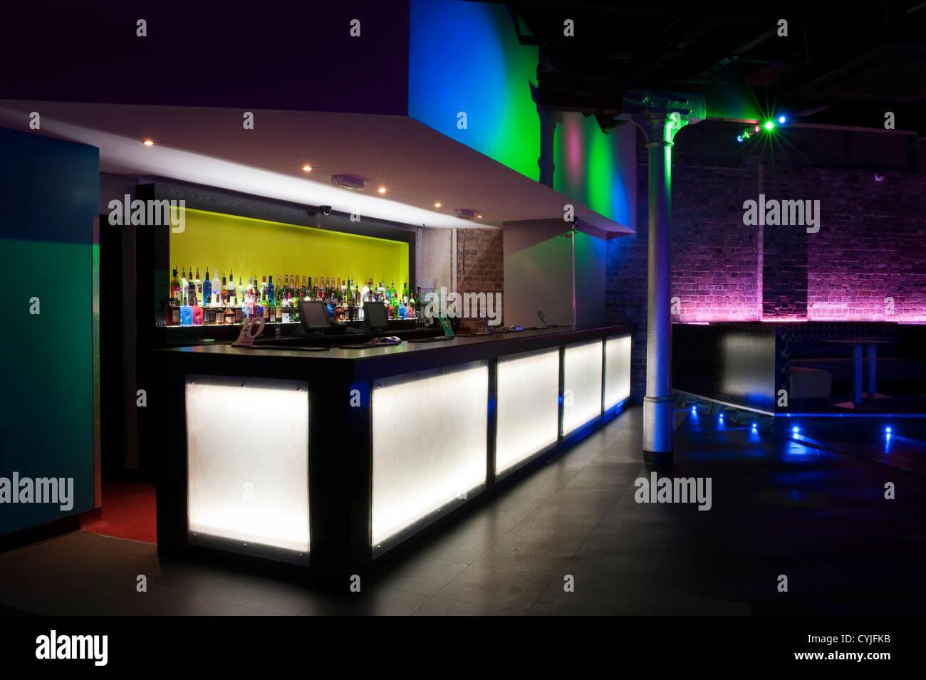 Night Club Bar Area Interior Design Stock Photo Royalty Free Image 51423887 Alamy
