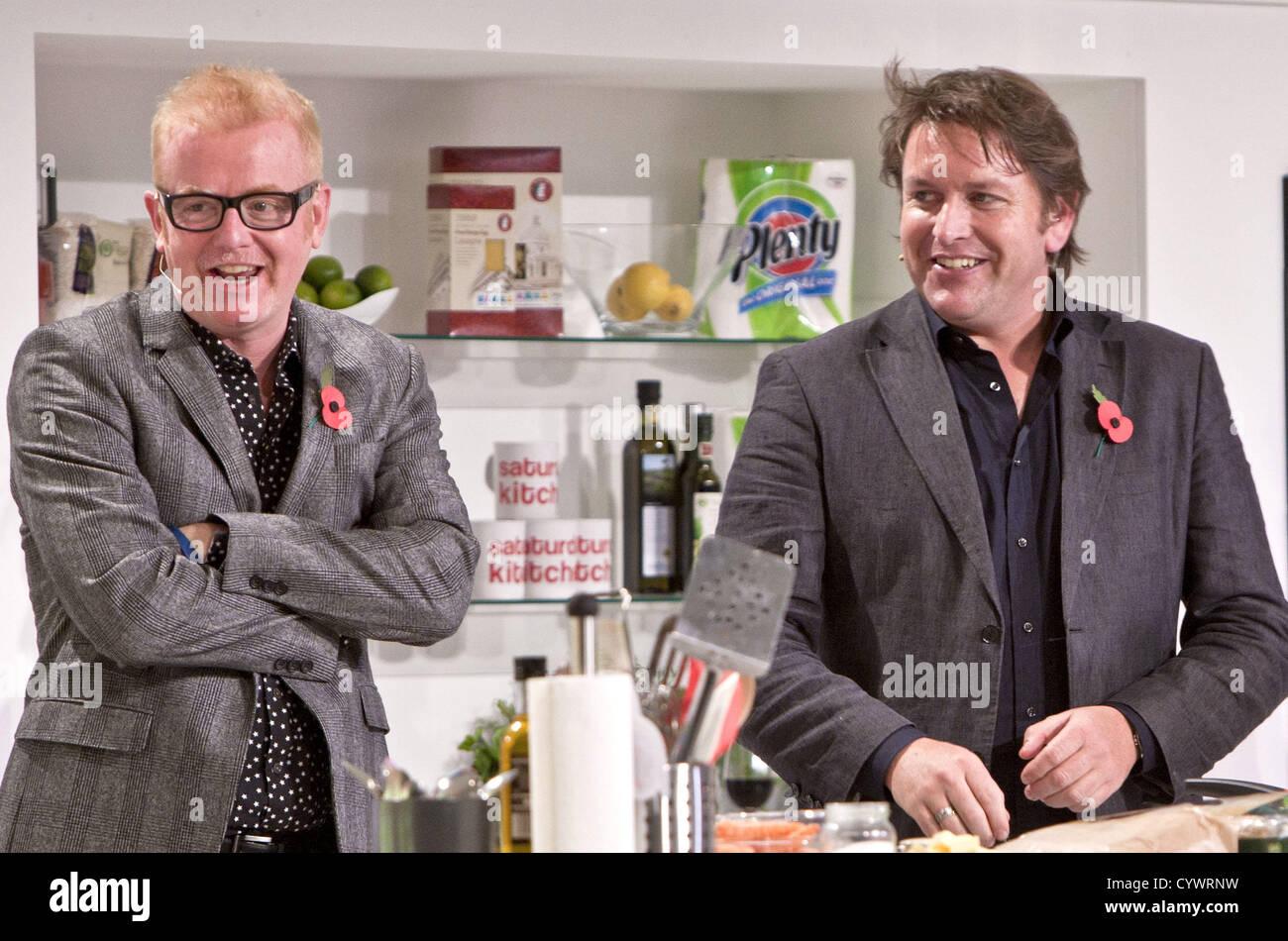 london celebrity chef james martin hosts a live version. Black Bedroom Furniture Sets. Home Design Ideas
