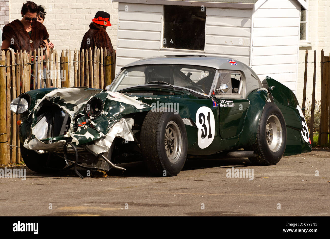 Wrecked Sports Cars