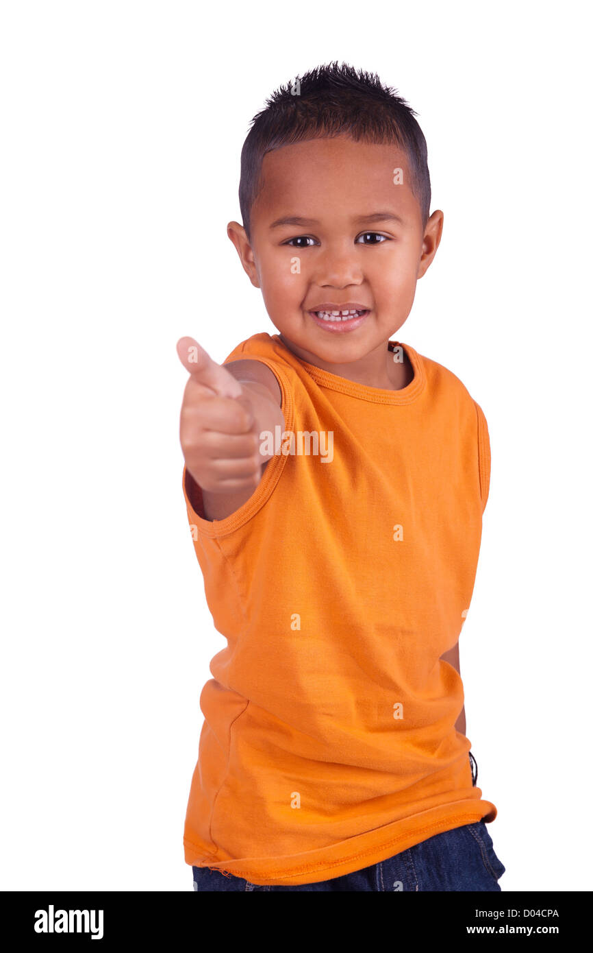 A portrait of a cute asian boy Stock Photo