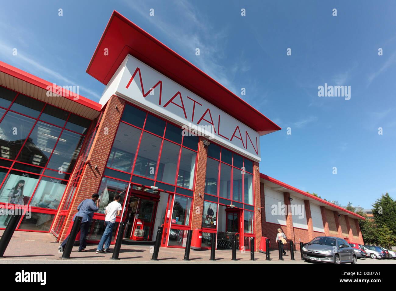 Matalan store Stock Photo