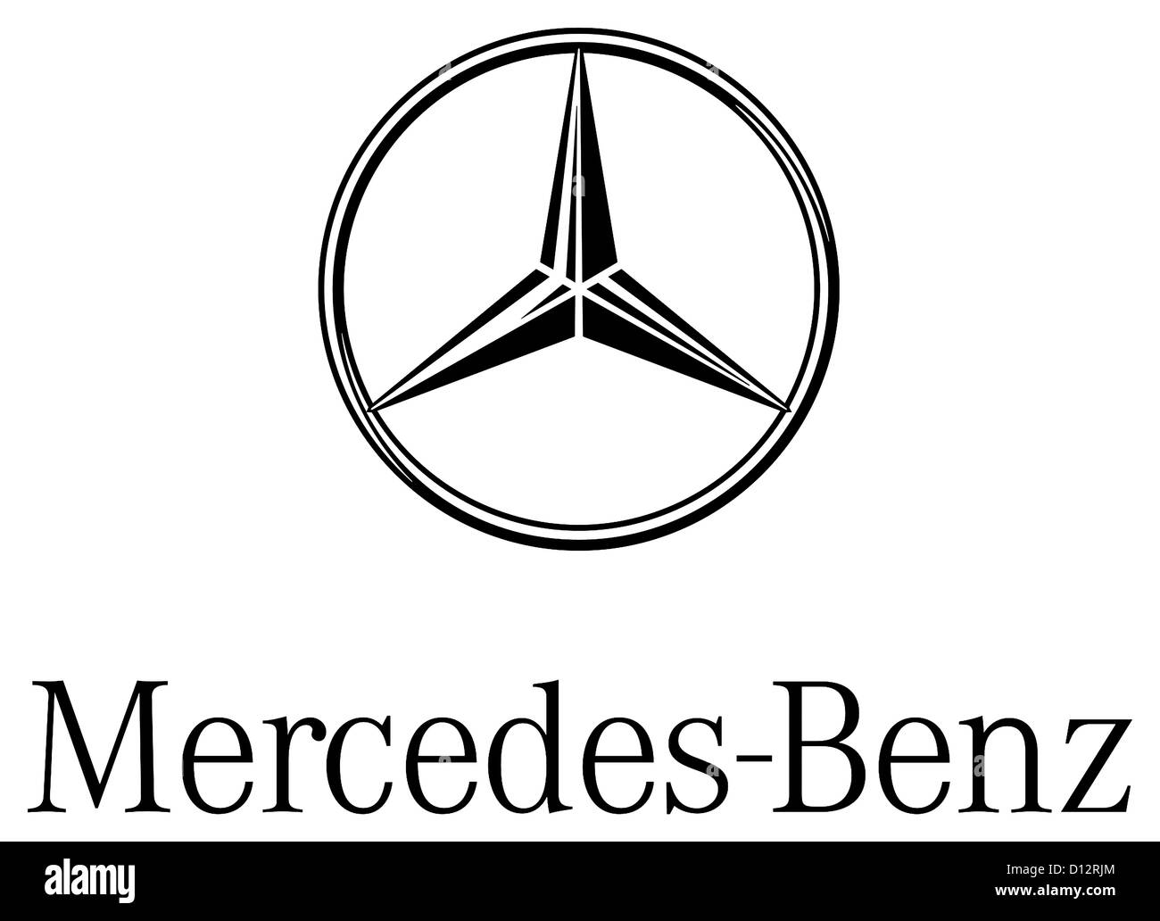Logo of the make of car mercedes benz of the german for Mercedes benz make