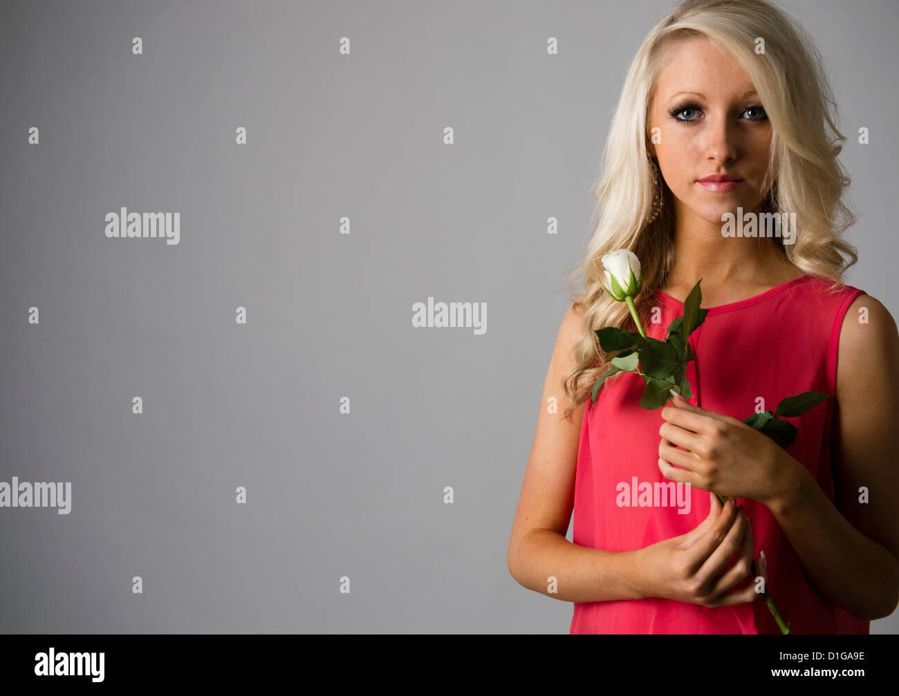 Multi View Blond Slim Teen 36