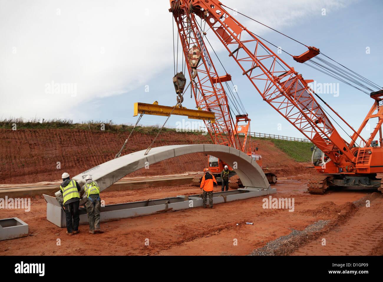 Precast Concrete Arches : Bebo arch bridge of precast reinforced concrete sections