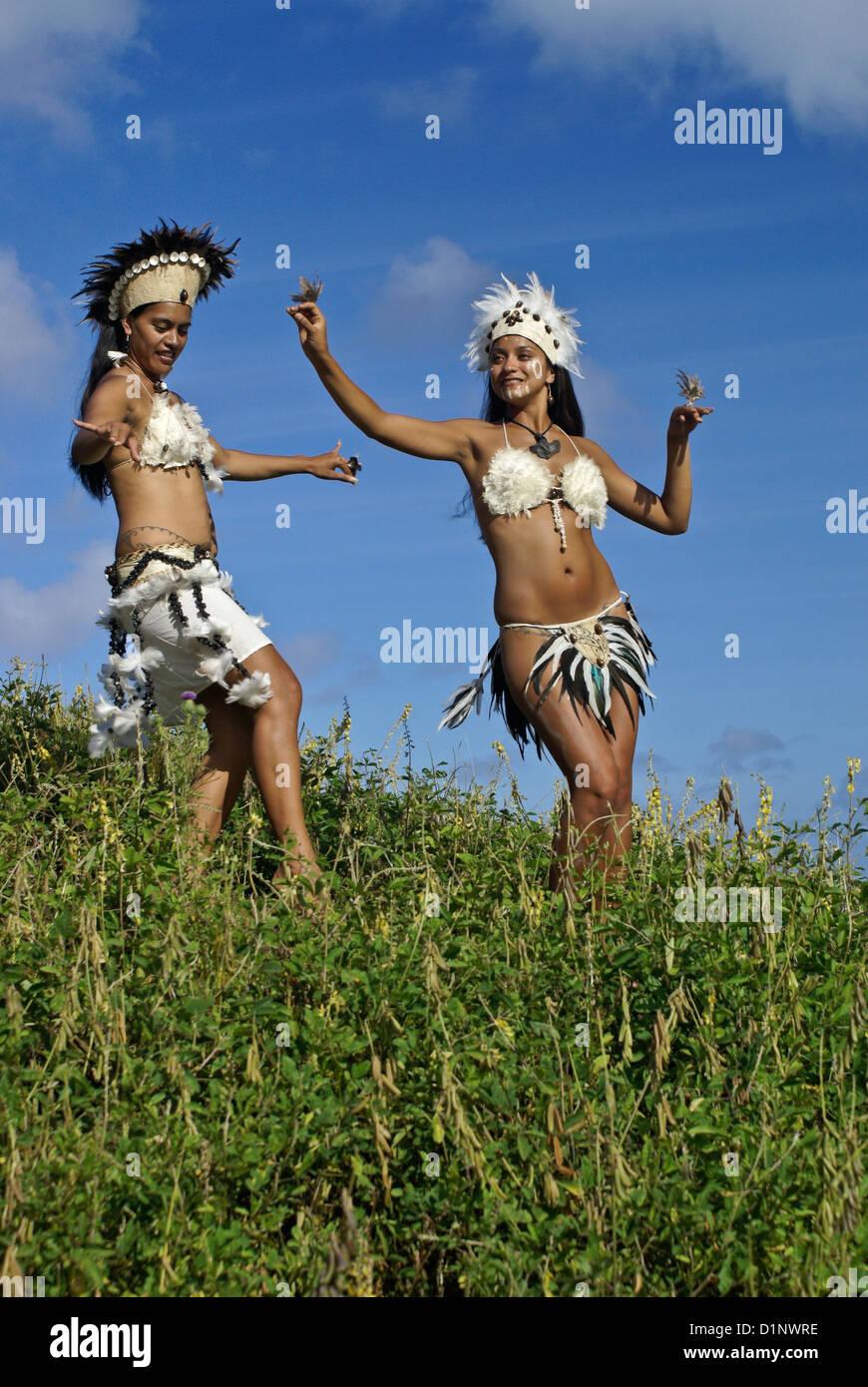 easter island women