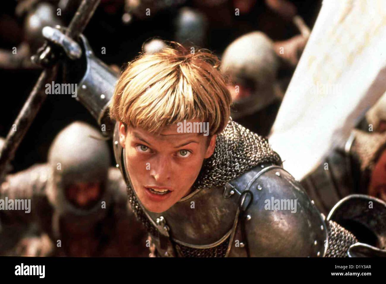 Johanna Von Orleans Joan Of Arc Milla Jovovich Johanna ...