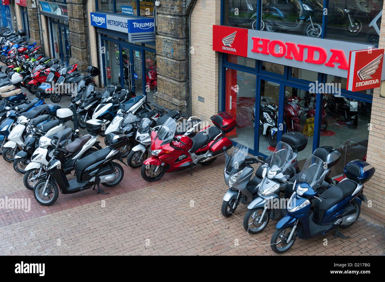 Honda Motorcycle Dealer Bangkok