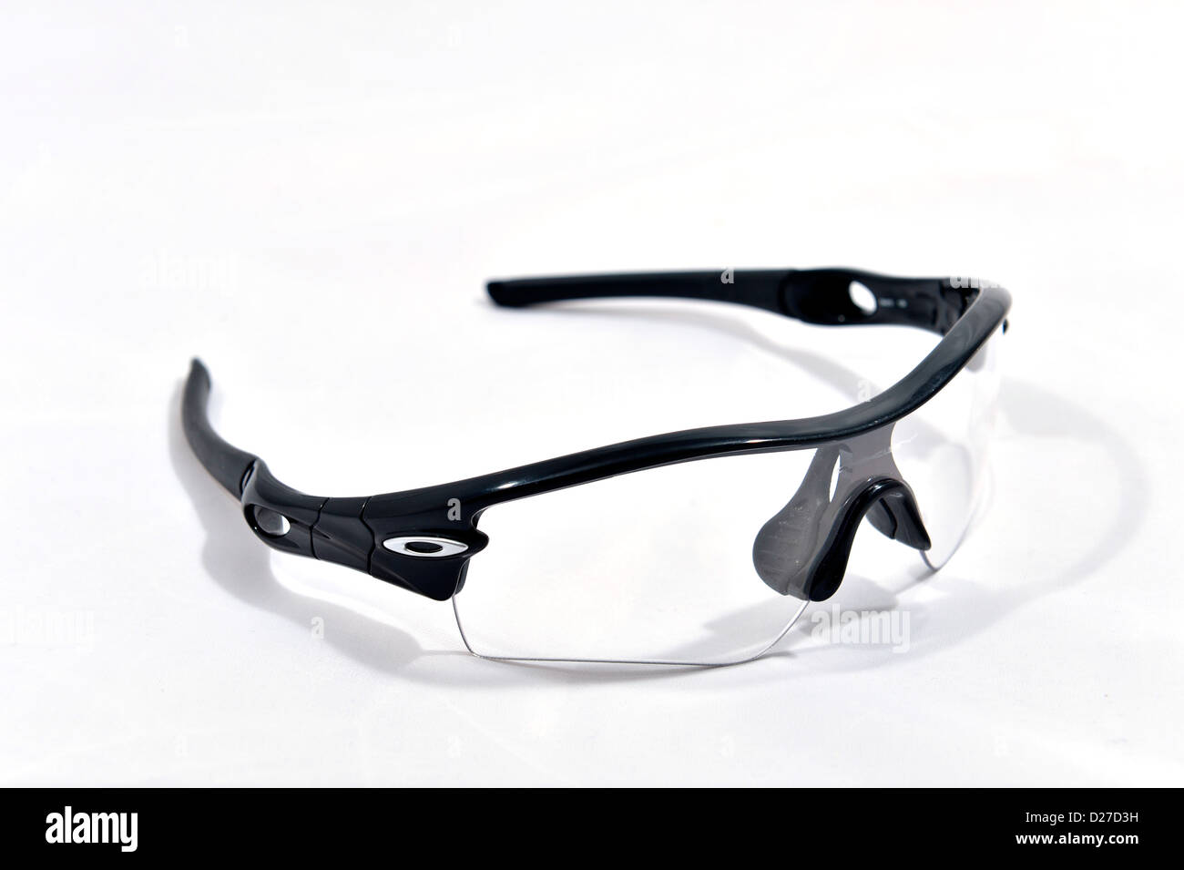 oakley glasses stock  oakley radar path professional sport glasses stock photo
