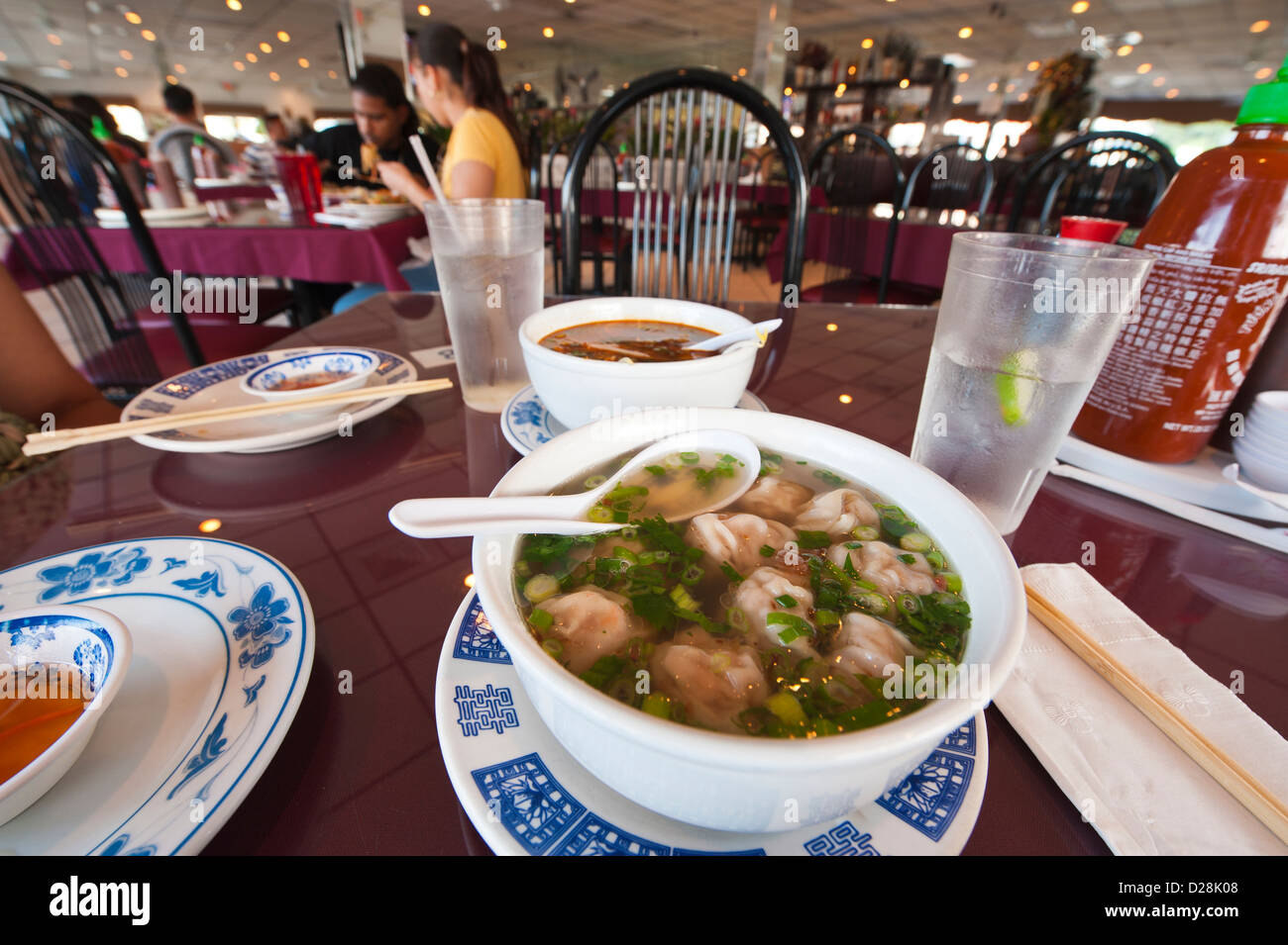 Stock Photo - USA, Florida. Pho 88 Vietnamese Restaurant, Orlando, Florida