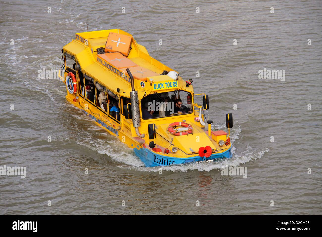Thames Duck Tour