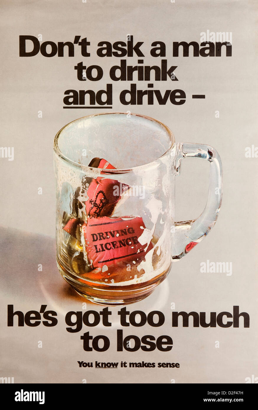 Don T Drink And Drive Canada Poster
