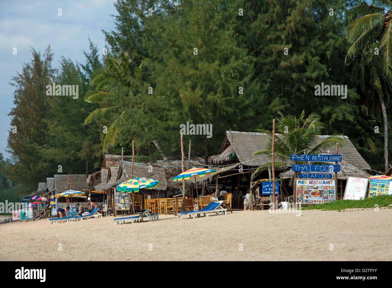 Khuk Khak Beach Restaurants