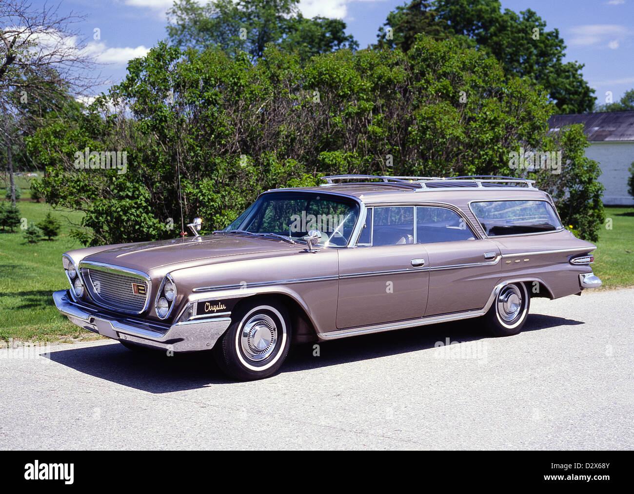 1962 chrysler newport station wagon stock photo royalty. Black Bedroom Furniture Sets. Home Design Ideas