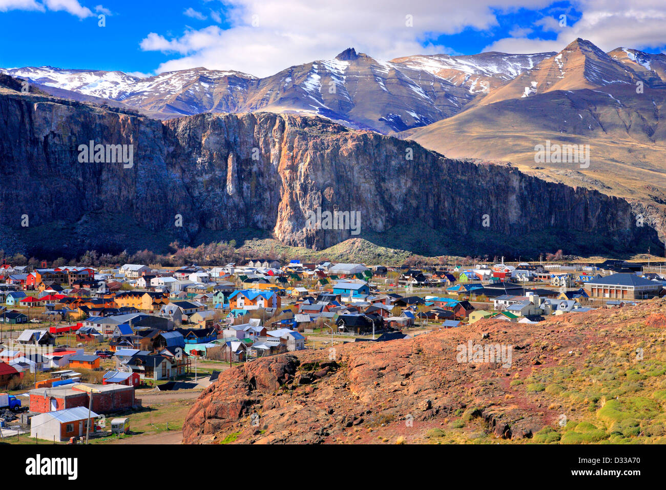El Chalten Argentina  city pictures gallery : El Chalten, Santa Cruz, Patagonia Argentina Stock Photo, Royalty Free ...
