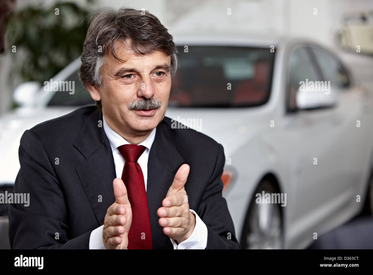 Ralf Speth Ceo Jaguar Land Rover Pictured At The Jaguar