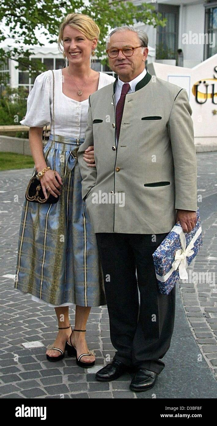 Dpa German Publisher Hubert Burda And His Wife