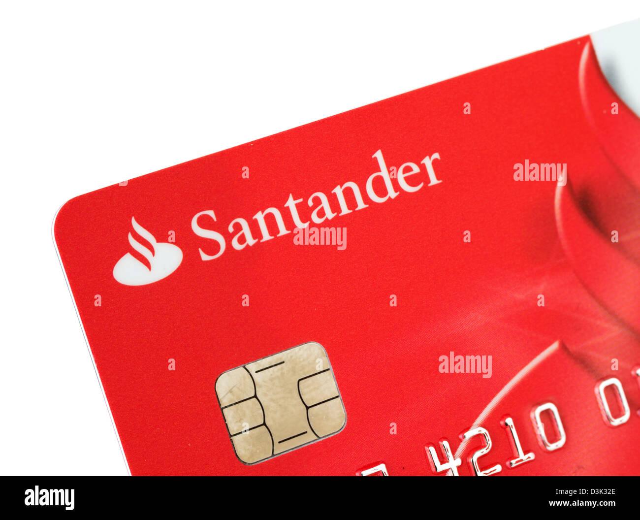 Santander bank visa debit card issued in the uk stock - Be up santander ...
