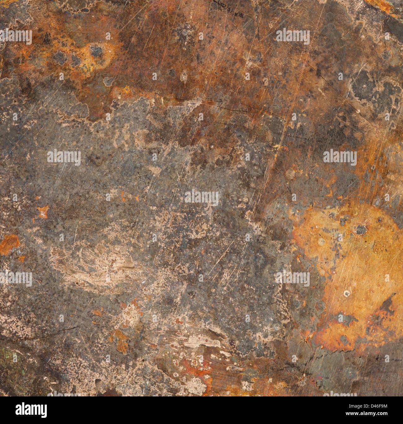Rusted Metal Plates Texture brown old rust metal p...