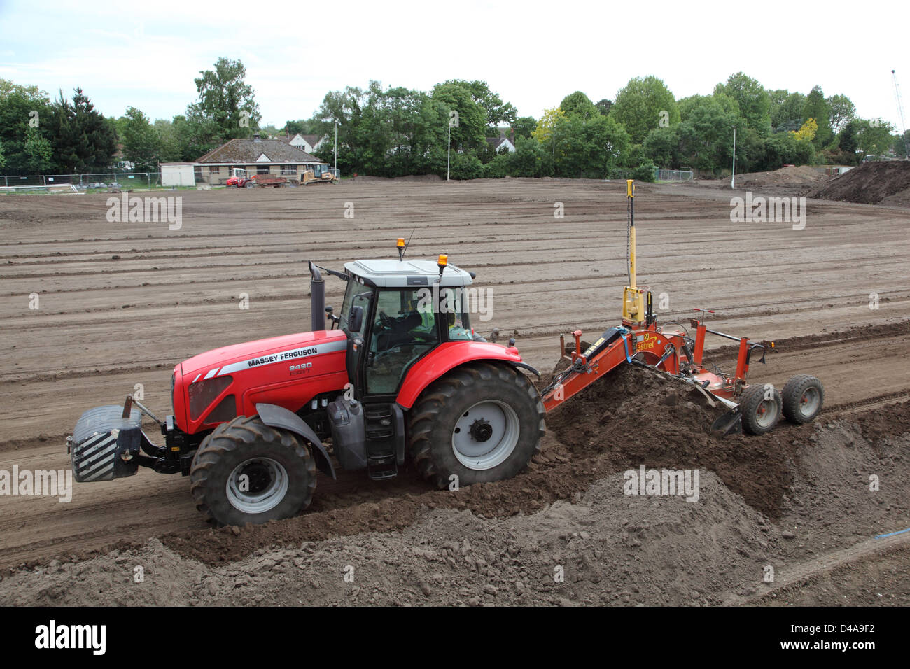 soil grading machine