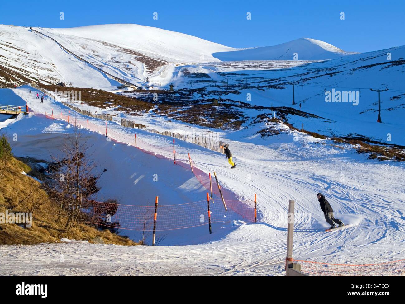 Cairngorm Ski Car Park