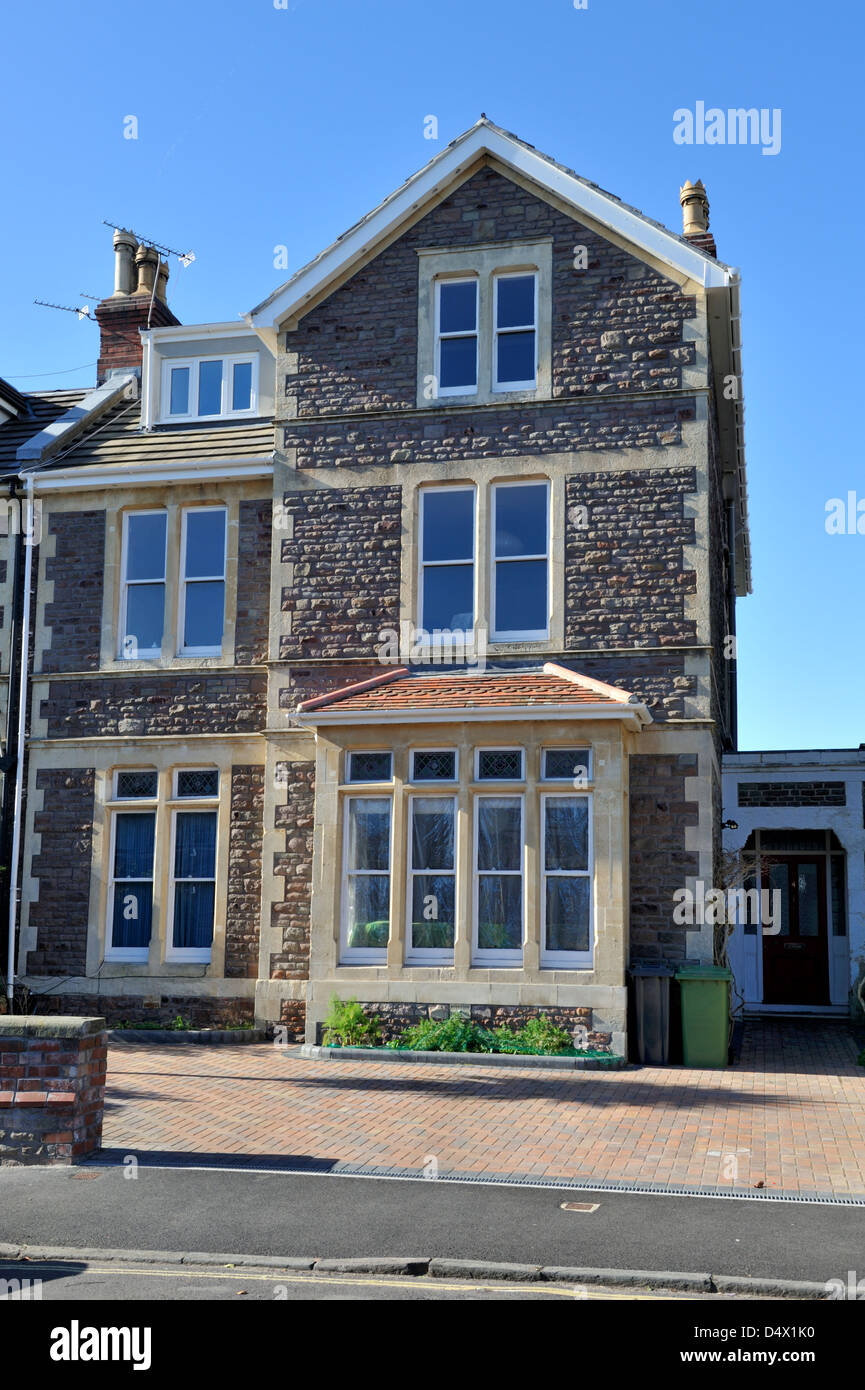 Victorian stone built semi detached urban 3 story house for 3 story homes