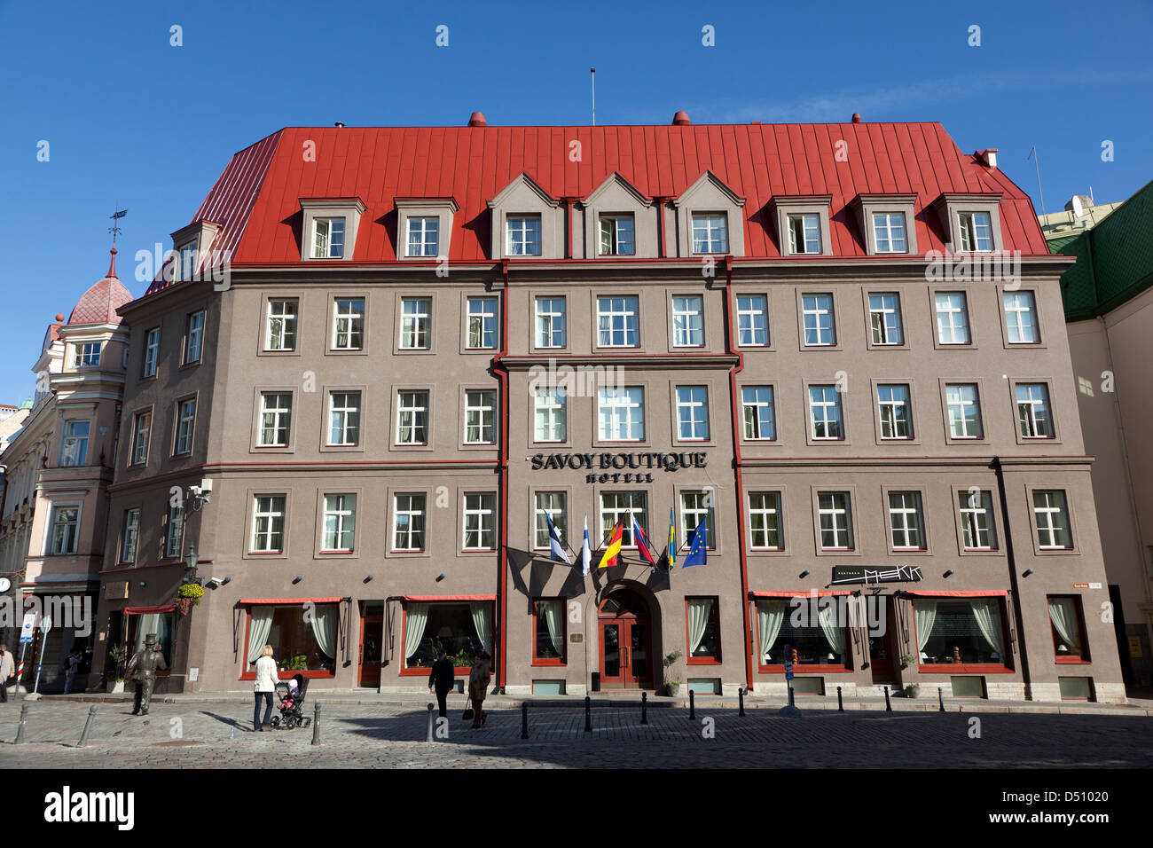 tallinn estonia the savoy boutique hotel in the old town stock photo 54726392 alamy. Black Bedroom Furniture Sets. Home Design Ideas