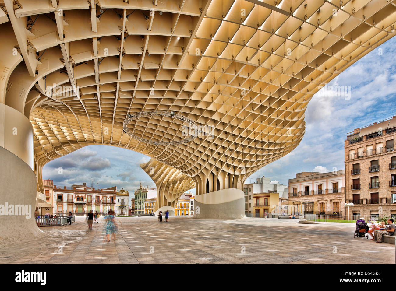 seville spain the metropol parasol in the plaza de la encarnacion stock photo 54805274 alamy. Black Bedroom Furniture Sets. Home Design Ideas