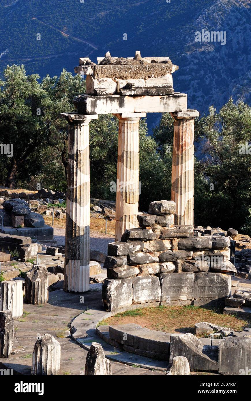 The Tholos at the sanctuary of Athena Pronaia, Delphi ...