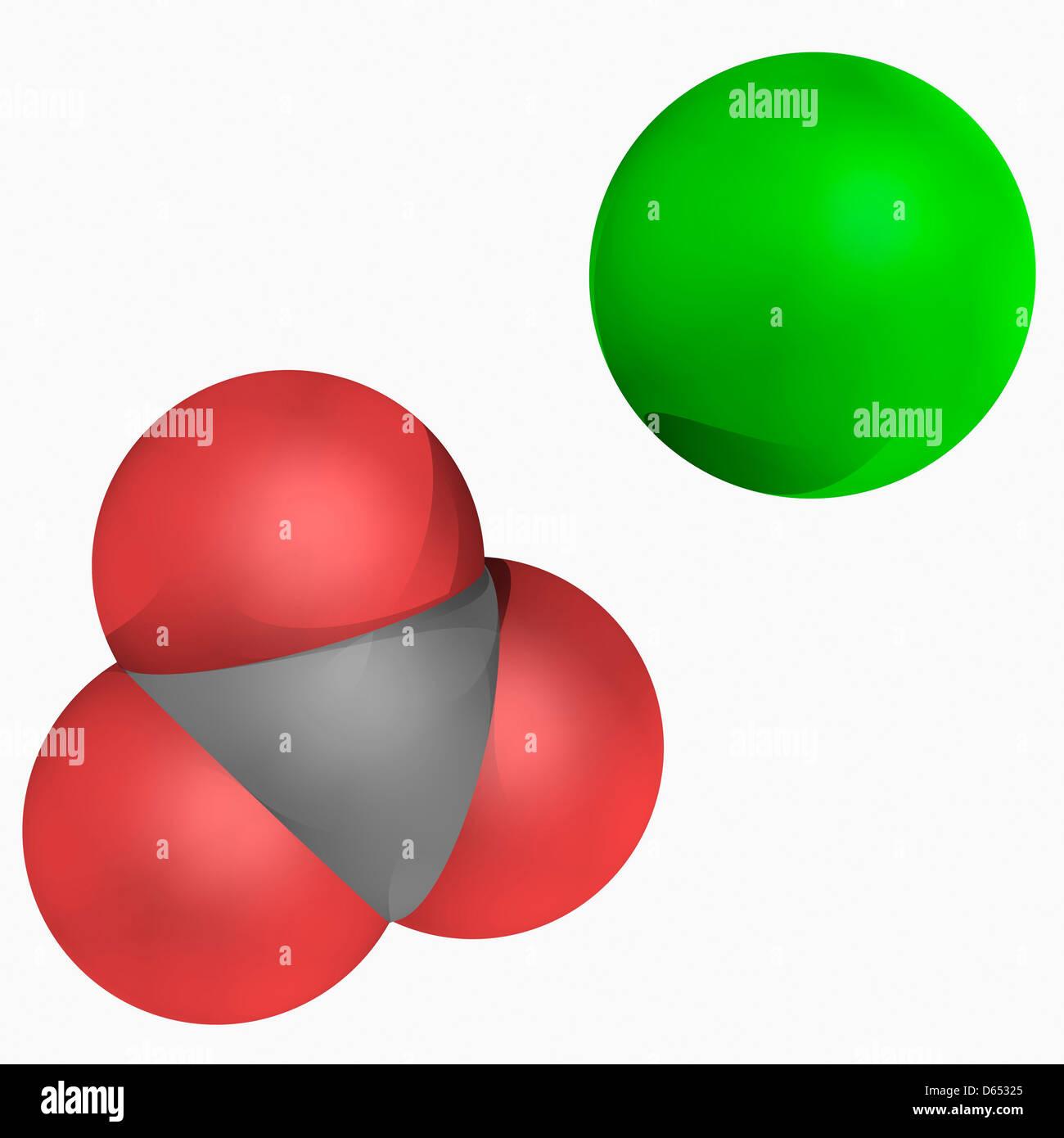 Calcium carbonate molecule Stock Photo, Royalty Free Image ...
