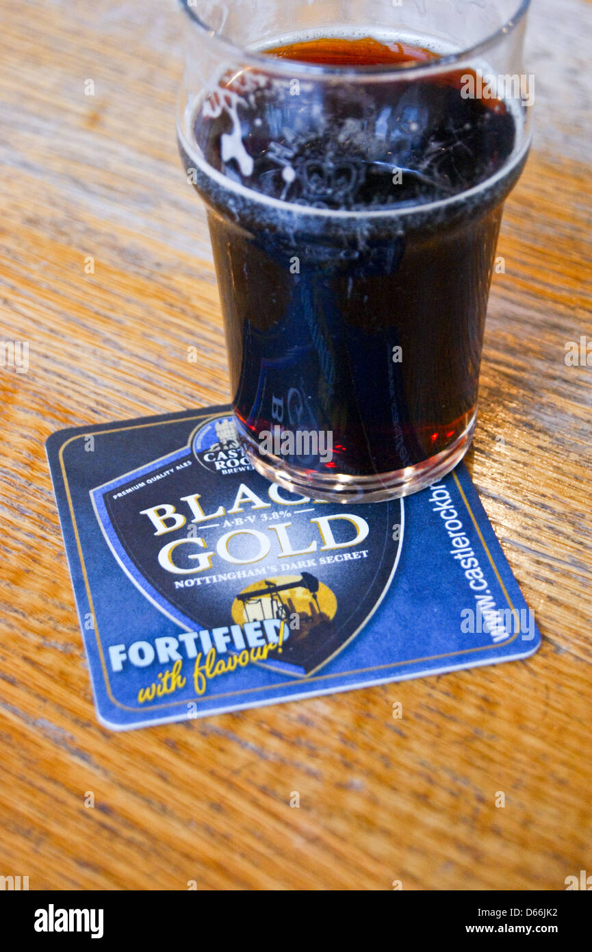 a-pint-of-black-gold-dark-mild-ale-on-a-