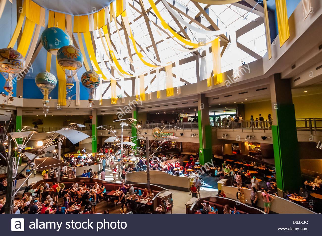 Seasons Food Court Epcot
