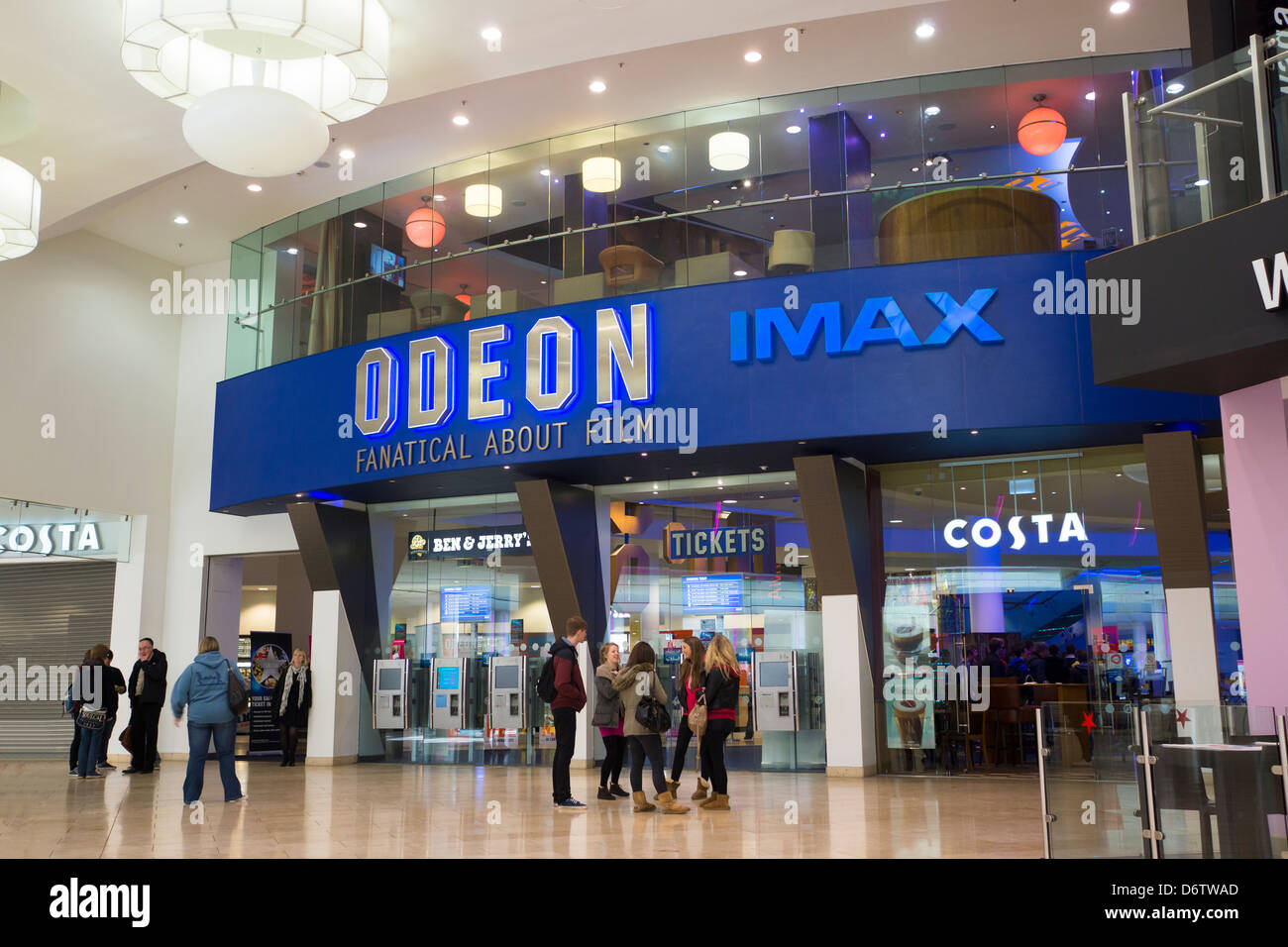 odeon imax cinema at the metrocentre stock photo royalty