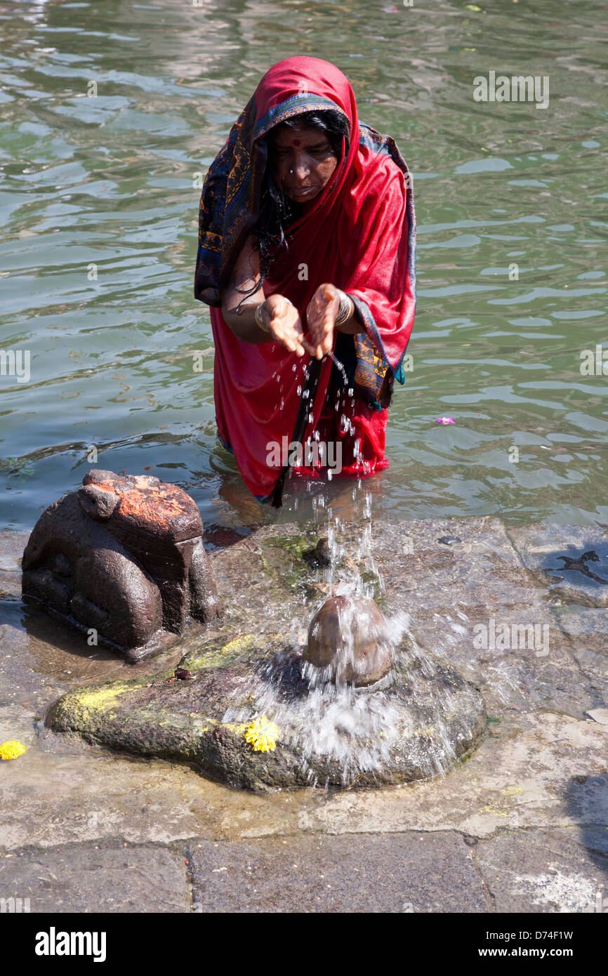 hindu single women in water view In order to show respect to holy men and women,  as a result of the wide variations within the faith the single most  the concept of time: the hindu view.