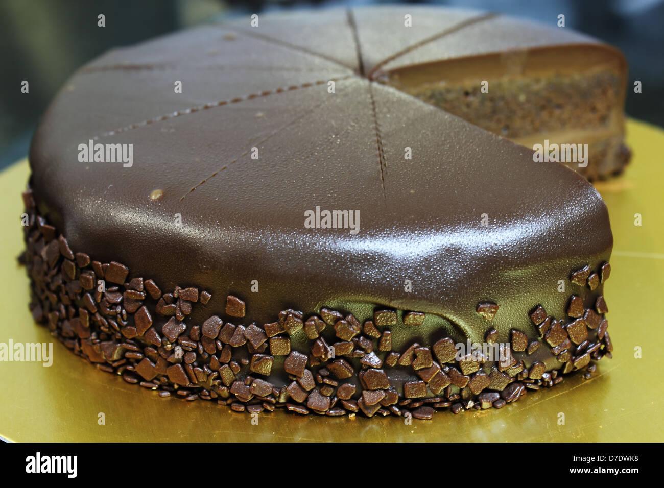 Chocolate Shavings Cake Decorations