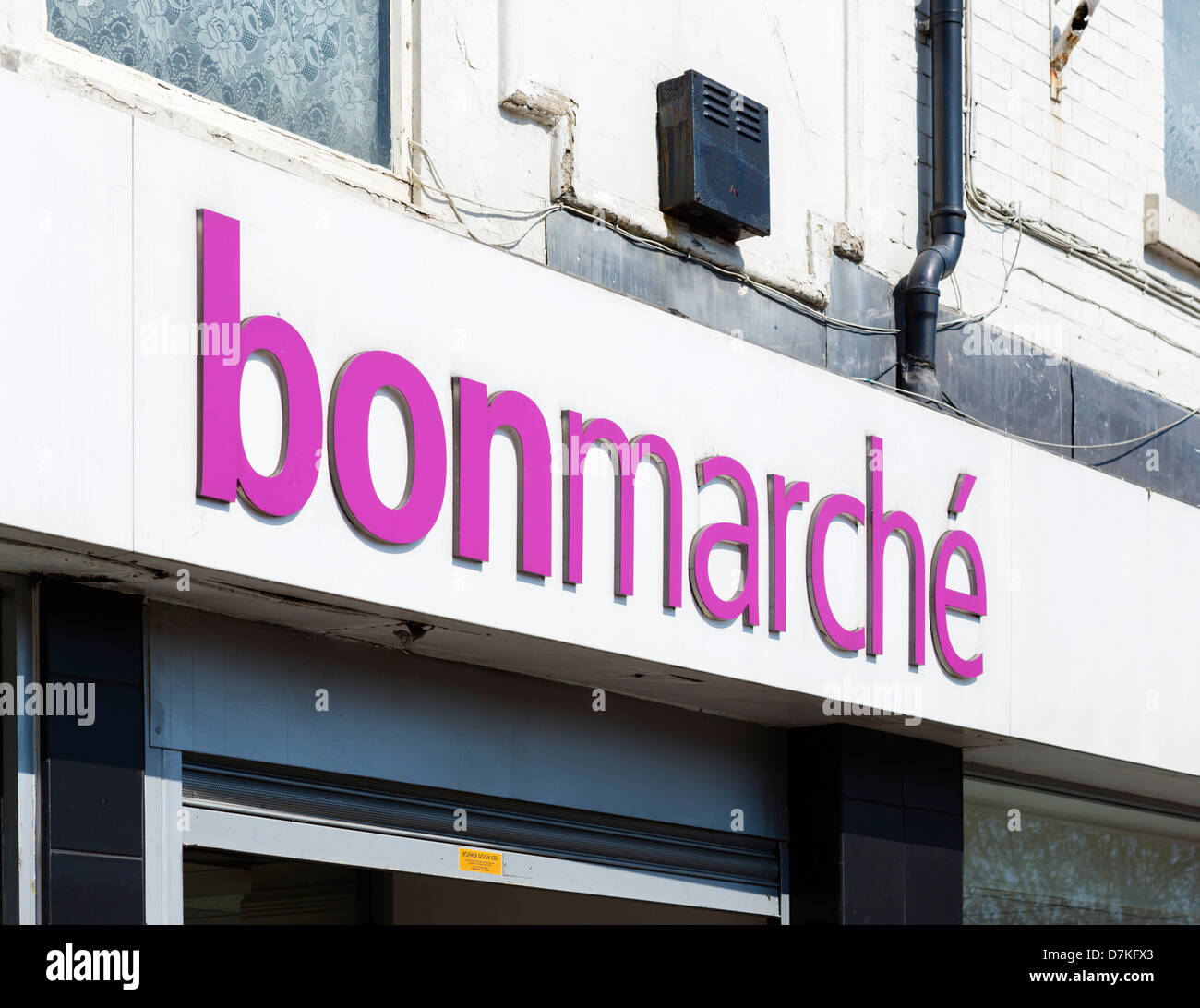 Bonmarche Store In Doncaster, South Yorkshire, England, UK