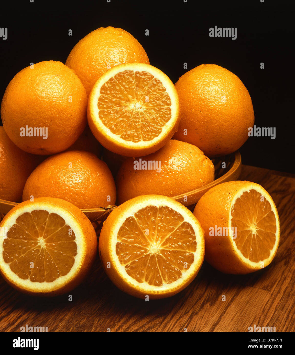 Ambersweet, a new cold hardy orange variety March 1, 2012. Stock Photo